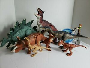 Jurrasic Park World Toy Dinosaur Collection Lot of 8