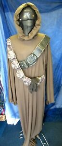 Jawa Star Wars Costume Licensed Halloween Adult Fancy Dress Outfit XL