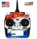 Spektrum iX12 Orange Blue Skin Wrap Radio Transmitter Ultradecals