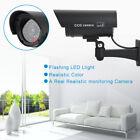 Dummy Security Camera Fake Red LED Blink Flashing Light CCTV Surveillance Cam