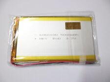 1 batteria 3,7 V polimeri di litio 5000 mAh  ricaricabile 6.0X60X100 MM