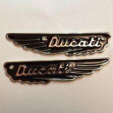 Badge, Alette serbatoio   Smaltate.  per  Ducati Scrambler 250 - 350 - 450
