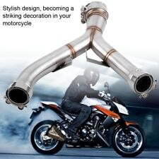 for Kawasaki Z1000 Motorcycle Exhaust Mid-Pipe Middle Pipe Link Connect Adapter