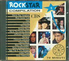 Rockstar Compilation 2 - Stevie Ray Vaughan/Toto/Clash/Santana/Iggy Stooges Cd
