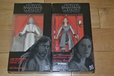 "Star Wars The Black Series Jedi Master Luke-Rey Jedi Training 6"" Inch Figures"
