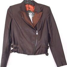Belstaff Black Label Rare 100% Wool Holme Blazer Jacket Blouson Size 42 Brown