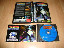 FIGHTERS MEGAMIX PARA LA SEGA SATURN USADO COMPLETO