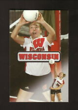 Wisconsin Badgers--2003 Volleyball Pocket Schedule--University Bookstore
