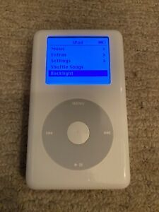 Apple iPod Classic - 4th Generation A1059 - White - 40GB - Good Working Order