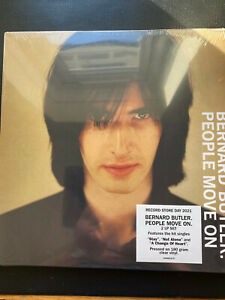 BERNARD BUTLER People Move on Double Clear VINYL LP new & sealed FREE POST in uk