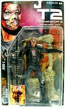 "New 2001 T2 Terminator 2 Judgement Day T-800 7"" Action Figure McFarlane Noc"