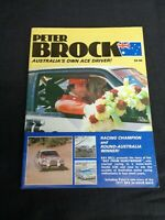 SIGNED Peter Brock Australia's Ace Driver Magazine 1979 Ray Bell Barry Lake #A