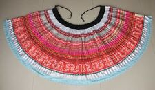 Tribal Chinese Minority people's Old hand Batik Embroidery Skirt
