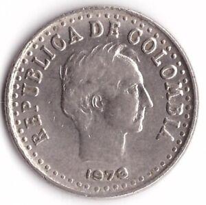 20 Centavos 1973 Colombia Coin KM#246.1 Santander