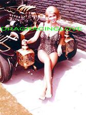 """Marilyn Munster"" & ""Munsters Koach"" George Barris Built Kustom Rod PHOTO! #(3)"