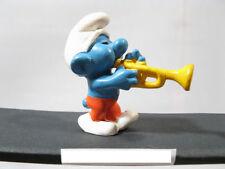 Trompeter  Schlumpf Var. 34b  Schleich # 20047  smurf puffi schtroumpf 27328+
