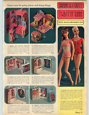 1968 PAPER AD Doll Barbie Stacey Francie Casey Twist 'N' Turn Bendable Legs