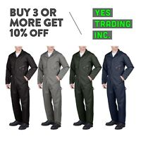 DICKIES 48799 MENS COVERALLS LONG SLEEVE COVERALL MECHANIC SUIT JUMP SUIT BOILER