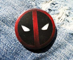 Deadpool Pin Badge - 38mm - Avengers X Men Cable Disney Dead Pool Marvel