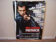 Payback -  movie poster  Mel Gibson