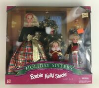 Barbie Holiday Sisters Special Edition Dolls Christmas Vintage 1998 Mattel New