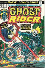 Ghost Rider Comic Book #5, Marvel Comics 1974 NEAR MINT