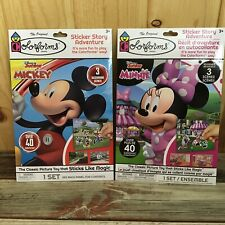 The Original Colorforms Set Of 2 Mickey And Minnie Mouse M4