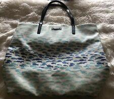 Kate Spade Make A Splash Plenty Of Fish Bon Shopper Tote Shoulder Bag Cute!