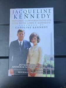 Jacqueline Kennedy Interviews w/Arthur Schlesinger, Jr. HC w/ 8 CDs