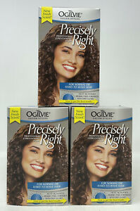 [LOT OF 3] OGILVIE Precisely Right HOME PERM for NORMAL or HARD-TO-WAVE Hair NIB