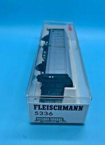FLEISCHMANN 5336 HO GAUGE  - PTT SLIDING WALL WAGON - BOXED