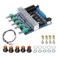 HiFi 2.1 Channel Bluetooth Power Amplifier Board+Case Stereo Subwoofer Amp