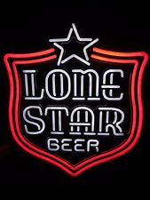 Lone Star Beer Flashing Led Neon Motion Sign / Bar Light - Texas pearl shiner