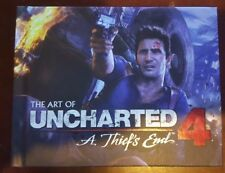 The Art of Uncharted 4 A Thief's End Special Edition Hardcover Art Book NEW