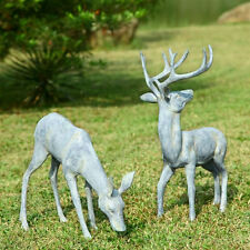 Deer Pair Garden Statue/Sculpture by SPI Home/San Pacific International 33686