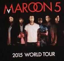 Maroon 5 2015 World Tour T Shirt Adult Size Medium, American Apparel