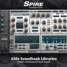 SPIRE - 20,000 Producer Archive / 630 x FULL Soundbank Libraries & Preset Sounds
