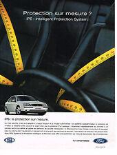 PUBLICITE ADVERTISING 104  2002  FORD MONDEO  IPS protéction sur mesure