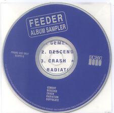 FEEDER Polythene UK Album Promo Sampler ECHPR15 Grant Nicholas
