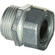 Halex 07310 1-Inch Zinc Water Tight Connector