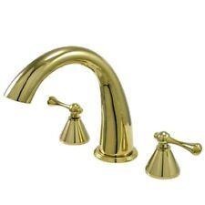 Kingston Polished Brass Roman Tub Faucet KS2362BL