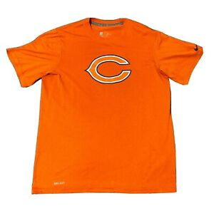 Nike Dri-Fit Chicago Bears NFL Men's M Orange On Field Apparel. 🔥NFL Draft 2021