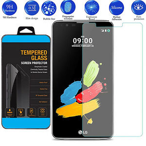 9H ULTRA CLEAR TEMPER GLASS SCREEN PROTECTOR For LG Stylus 2 Plus USA