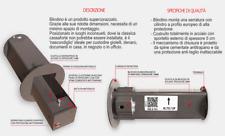 MINI CASSAFORTE/CASSETTA DI SICUREZZA  NASCOSTA SUPER CORAZZATA DIAMETRO 140MM.