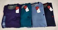 IZOD Advantage Performance Sweatshirt Men's Pullover Solid Crew Fleece