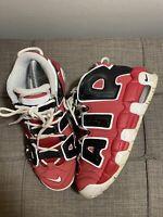 Nike Air Uptempo GS Varsity Red Sz 5.5Y Boys Shoes 415082-600 No Box Worn