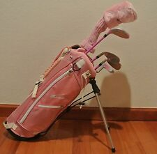 New Ciscobay  Kids Golf Clubs Junior Golf Club Pink Color Set 3-5 RH