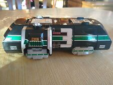 1999 Bandai Power Rangers Light Speed Train Green Ranger #3 Megazord Body head