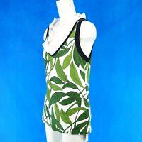 Marc Cain Damen Top Shirt GC6130 Gr N5 42 Baumwolle Elasthan Muster NP 129 Neu