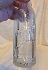 Vintage Soda Beverage Bottle: DIXIE BRAND, SAN ANTONIO CHIC CHIC BOTTLING WORKS
